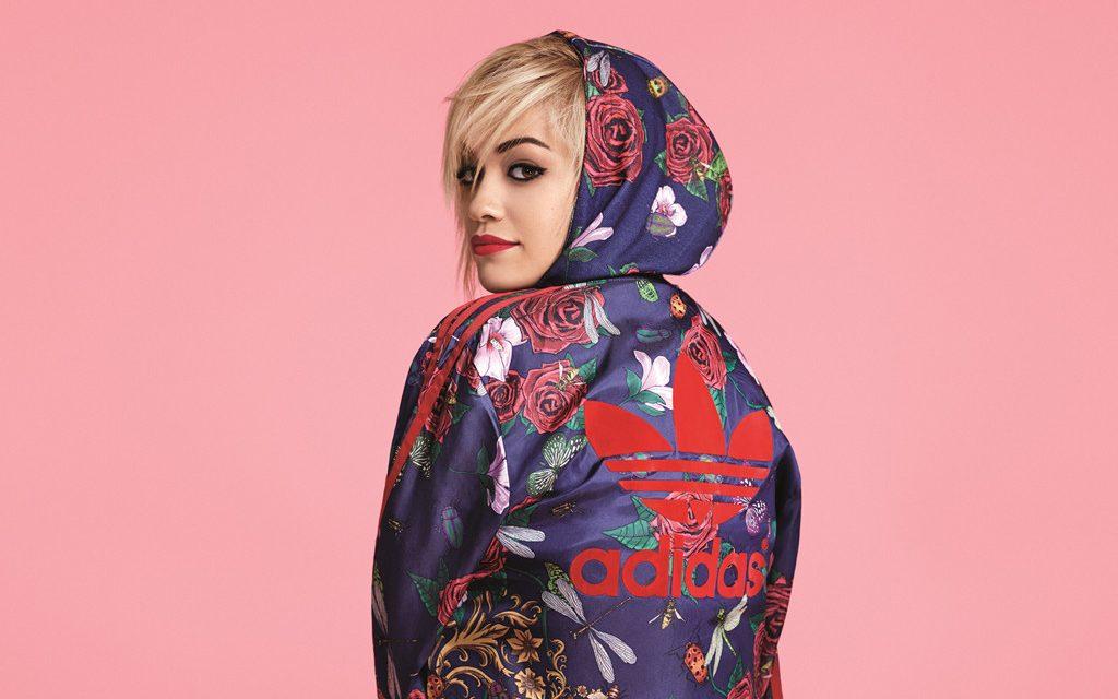 Rita Ora teams up with Adidas