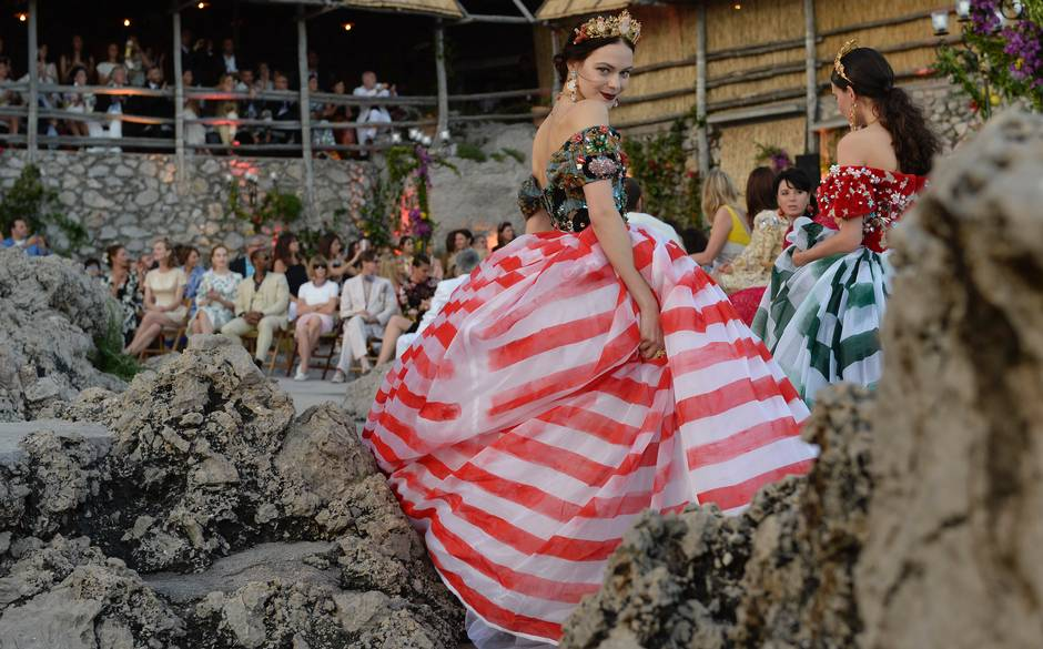 Dolce & Gabbana and Capri: a match made in heaven
