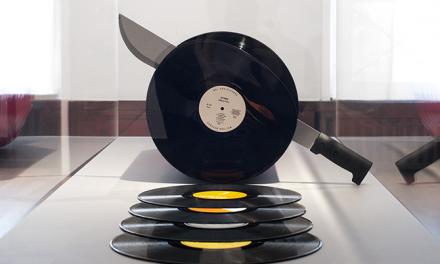Vinyl sausage for breakfast