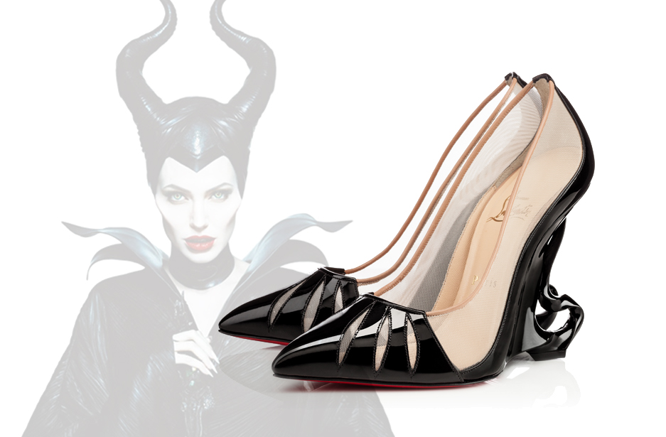 A shoe worthy of Maleficient