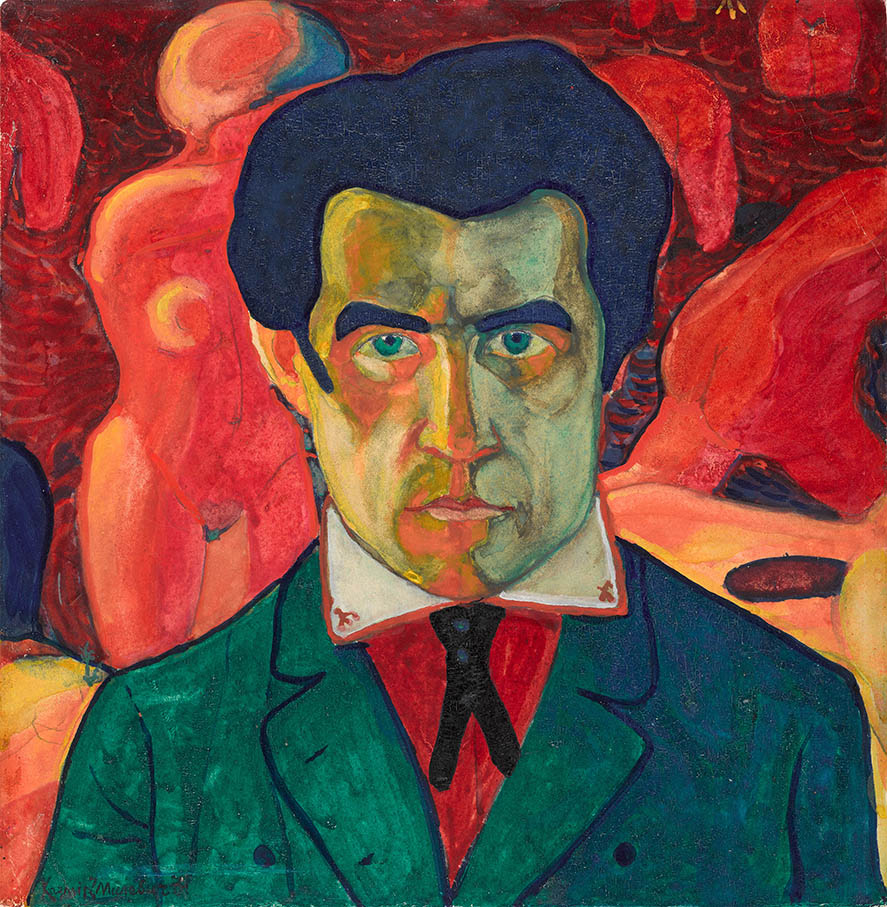 Self Portrait 1908-1910