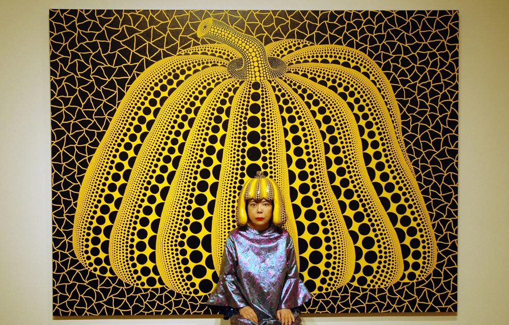 Book it: Yayoi Kusama this september
