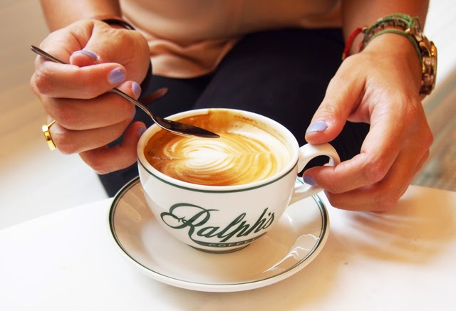 A Ralph latte, please