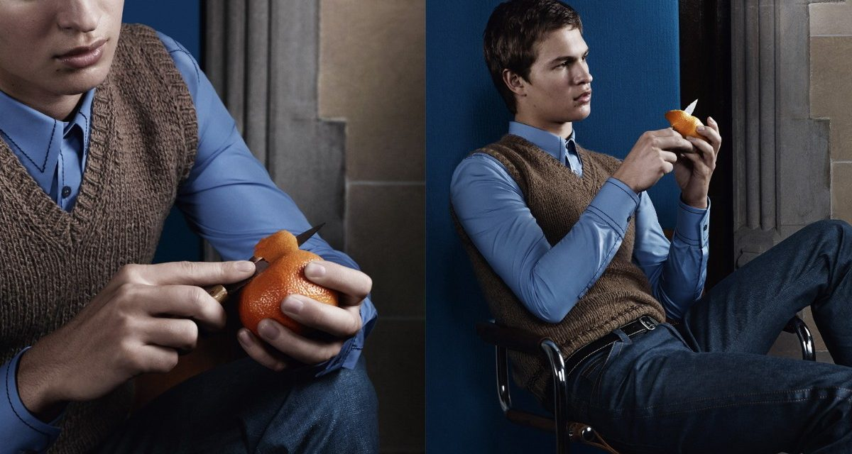 Ansel Elgort and Ethan Hawke star in Prada's men Campaign