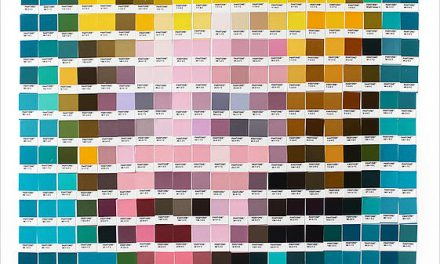 Psycolourgy. Artist Recreates Classic Paintings with Pantone