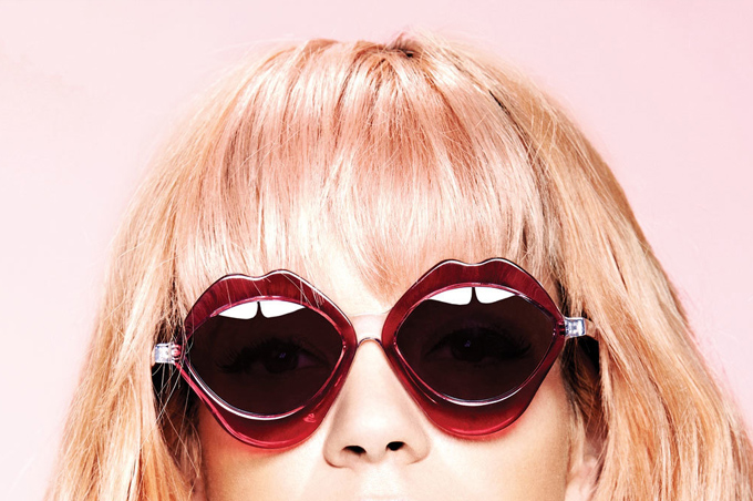 Lily Allen, the Girl Behind the Glasses' of House of Holland
