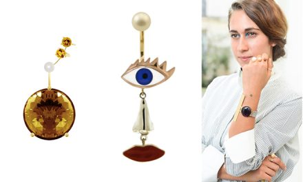 Delfina Delletrez's eclectic and daring jewellery