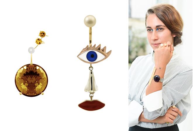 Delfina Delletrez's eclectic and daring jewellery