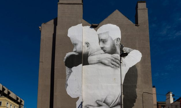 Joe Caslin's quiet, emotional giant murals