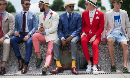 Italian suit inspiration from Pitti Uomo