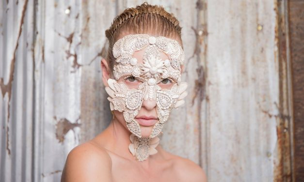 Hybrid beauty: of jewelled faces and masks