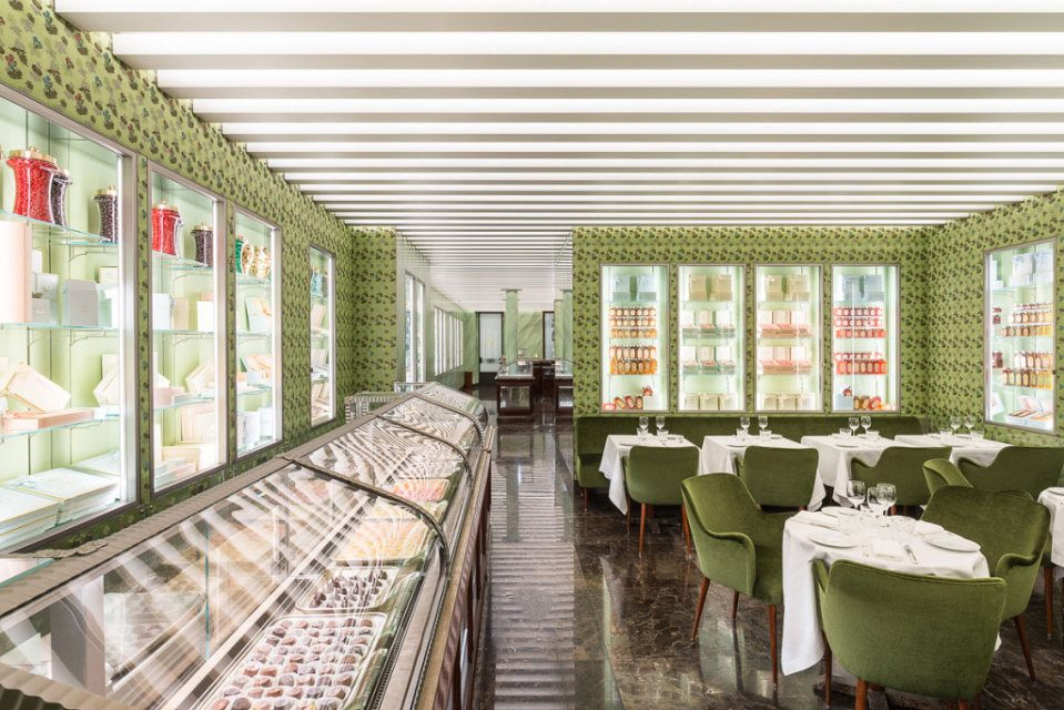 How to do a Pastry shop the Prada way