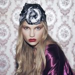 Vintage silk scarfs fever: Cléo Ferin Mercury