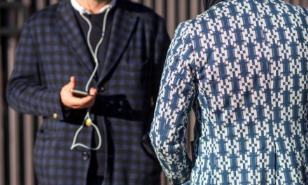 Smokin' menswear style at Pitti Uomo