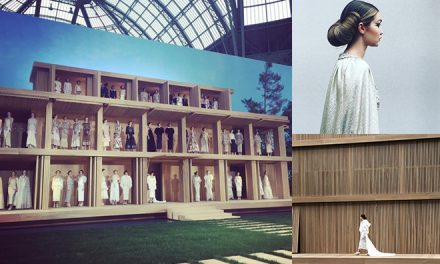 The best instagrams from Chanel's spectacular runway show