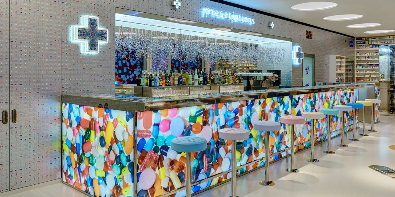 Damien Hirst and chef Mark Hix launch Pharmacy 2