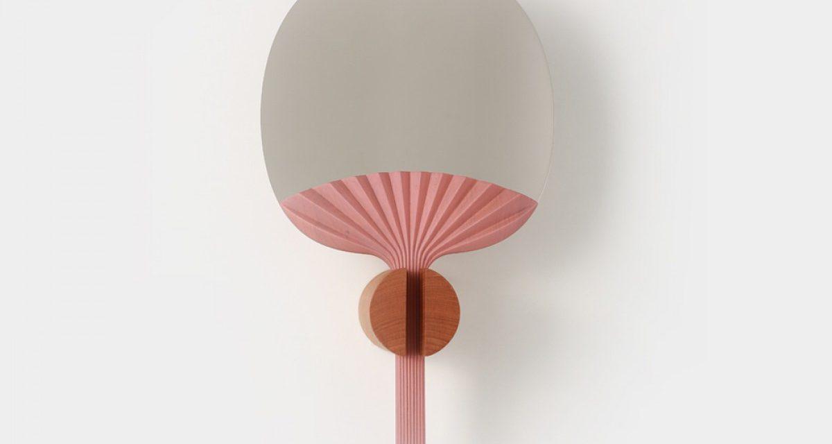Table mirror by Ilaria Innocenti & Giorgio Laboratore
