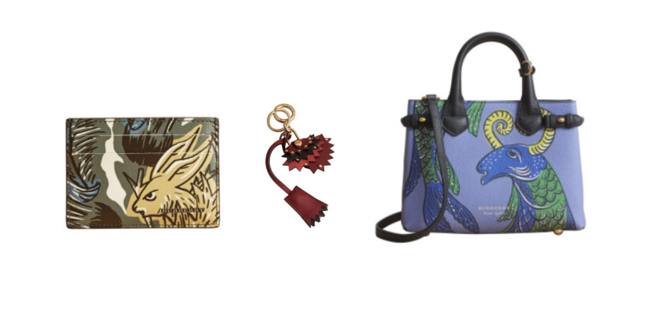 Burberry Beasts, a collection based on mythical creatures