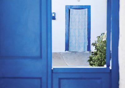 Blue in Greece