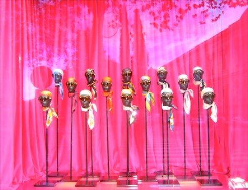 The power of pink! Loewe Madrid