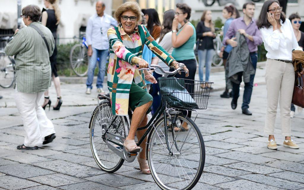 Street photos Fashion Week Milan 2013