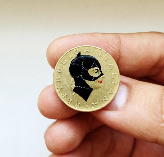 A one-in-a-million penny: Coin recreations by Andre Levy