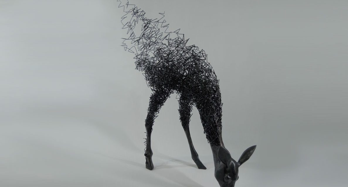 Swept away by Tomohiro Inaba's sculptures