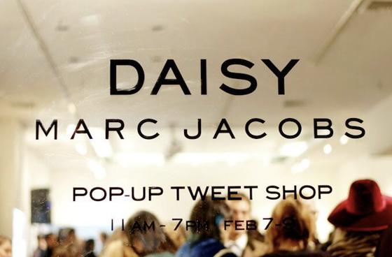 Daisy pop up store nyc