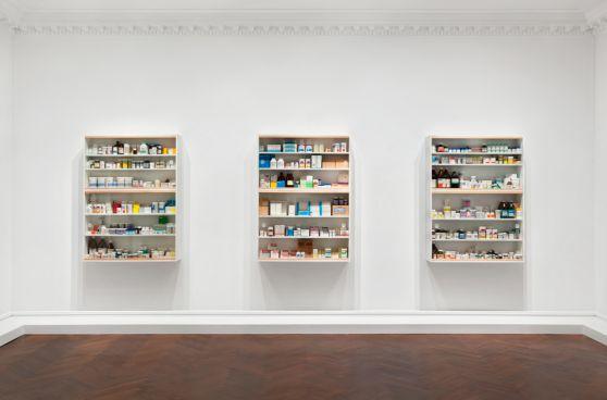 Medicine Cabinets Damien Hirst
