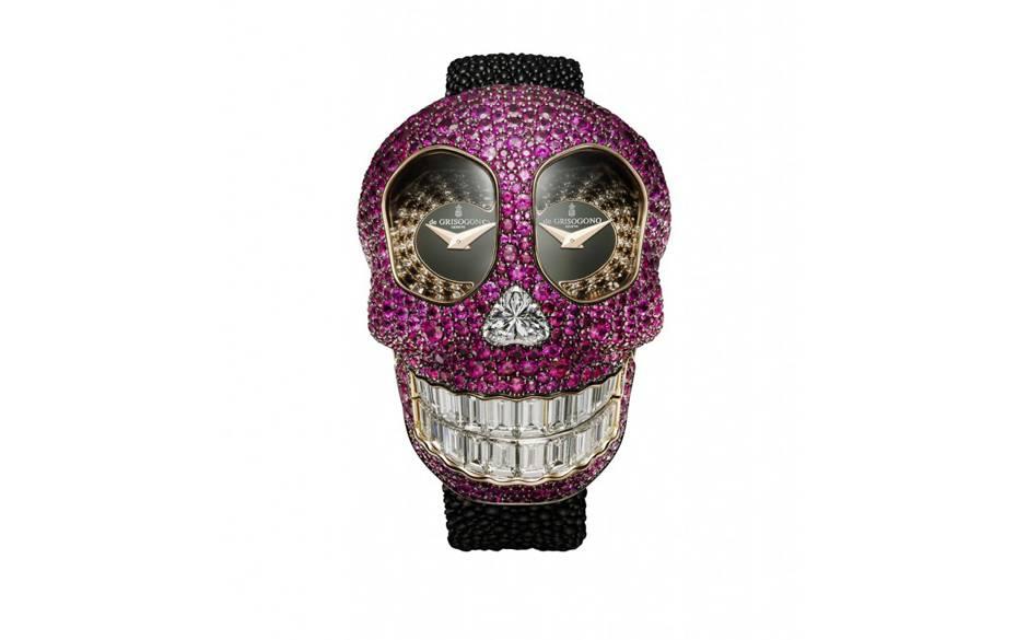crazy skull watch