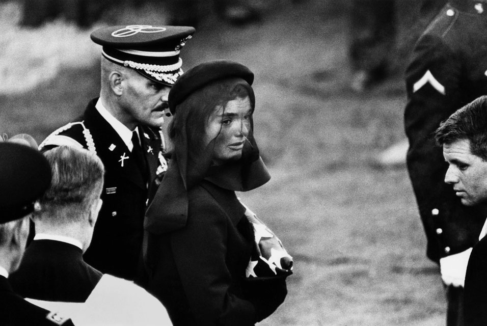 Elliott-Erwitt.-Jacqueline-Kennedy-at-John-F.-Kennedys-Funeral-November-25th-1963-Arlington-Virginia