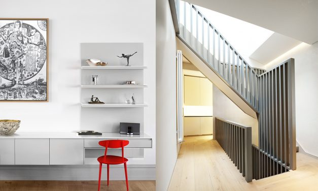 Victorian apartment receives a modern make-over