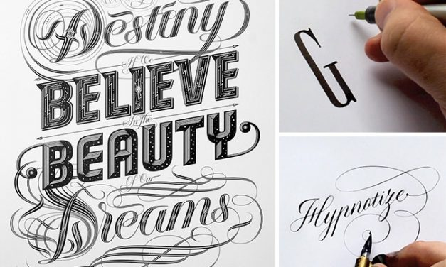 The typography artist who has hipnotized Instagram: Seb Lesters