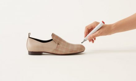Not your typical leather shoes, by Nendo