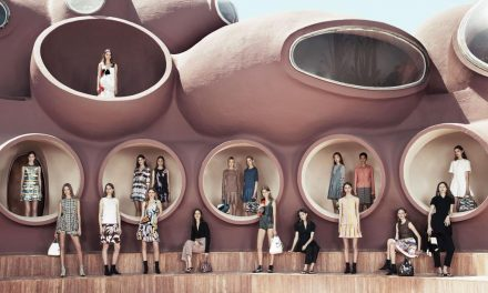 Dior's amazing runway in the Côte d'Azur bubble palace