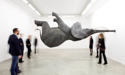 Daniel Firman's gravity-defying elephants