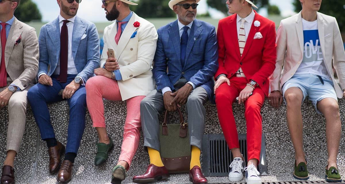 Italian suit inspiration from Pitti Uomo