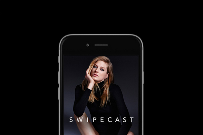 Swipecast, the 'instagram' of the models