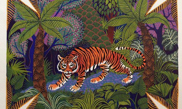 The illustrator behind Hermès' silk scarf designs