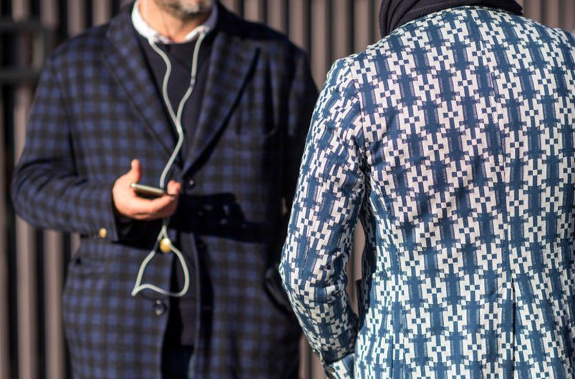 Smokin' menswear style at Pitti Uomo