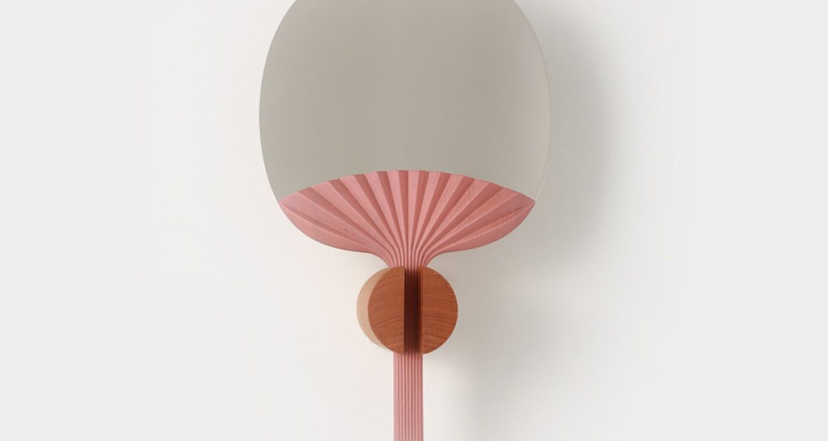 Table mirror by Ilaria Innocenti & Giorgio Laboratore