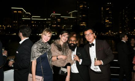 Glam on the Thames, Champagne boat party organized by Captain Stefan Latev